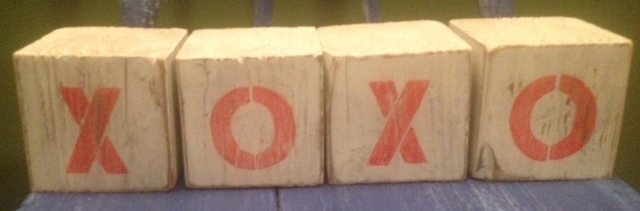XOXO blocks